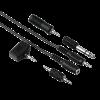 Аудио кабели и адаптери