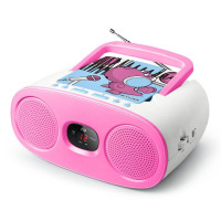 Children's Radio CD MUSE M-20 KDB, pink