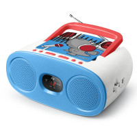 Children's Radio CD MUSE M-20 KDB, blue