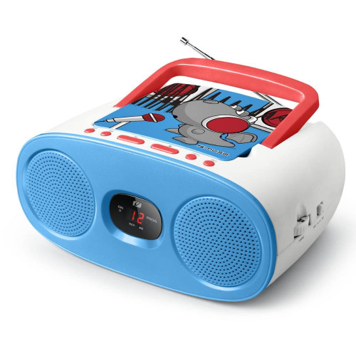 Children's Radio CD MUSE M-20 KDB, blue