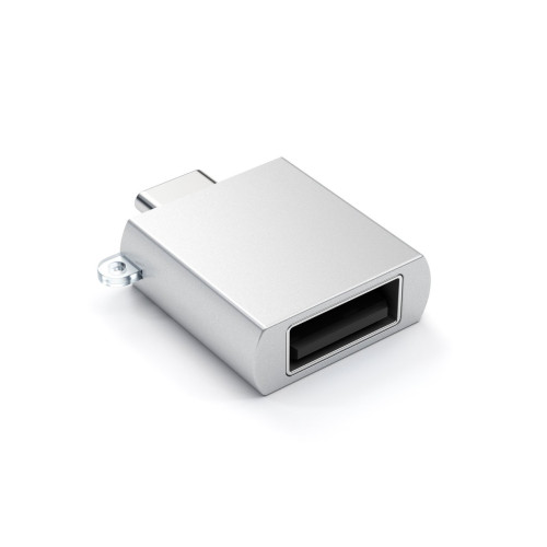 Адаптер Satechi от USB-C Male към USB Female - Cребрист