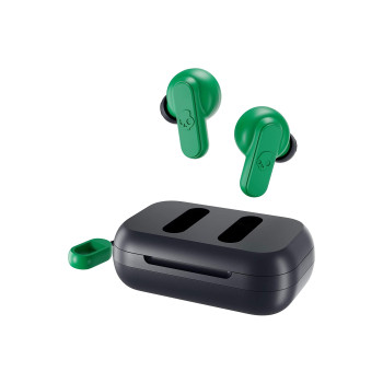 Безжични слушалки Skullcandy DIME True Wireless - Dark Blue/Green