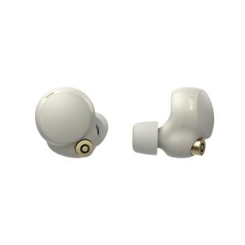 Напълно безжични слушалки Sony WF-1000XM4 Noise-Canceling - Silver