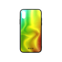 Kалъф Tellur Glass Print за iPhone X/XS - Silk