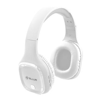 Безжични слушалки Tellur PULSE - Бели