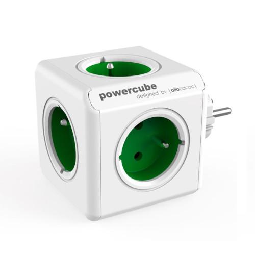 Allocacoc POWERCUBE ORIGINAL 1100GR coupler, green