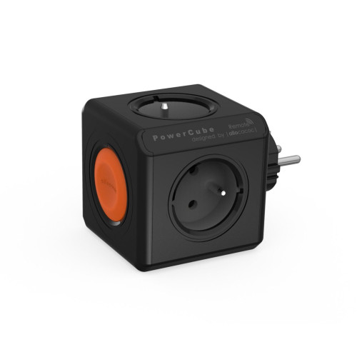 Splitter Allocacoc POWERCUBE ORIGINAL Remote 1511BL, black