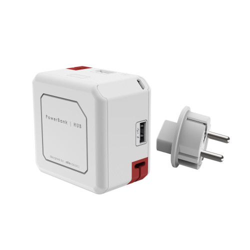 Allocacoc 9402 Powerbank and USB Hub (5000mAh)