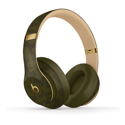 Beats By Dre STUDIO3 Wirelesses Headphones, forest-green (Camo Collection)