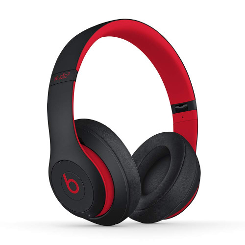 Beats By Dre STUDIO3 Wirelesses Headphones, defiant black-red
