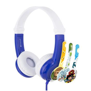 Детски слушалки BuddyPhones CONNECT, blue