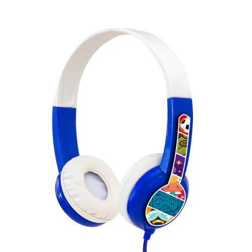 BuddyPhones DISCOVER kids headphones, blue
