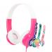 Детски слушалки BuddyPhones DISCOVER, pink