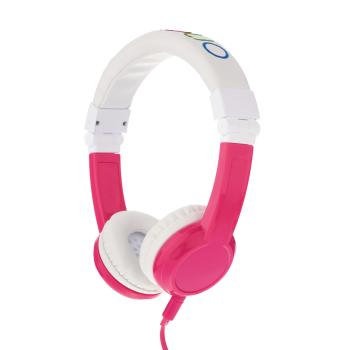 Детски слушалки BuddyPhones EXPLORER, pink