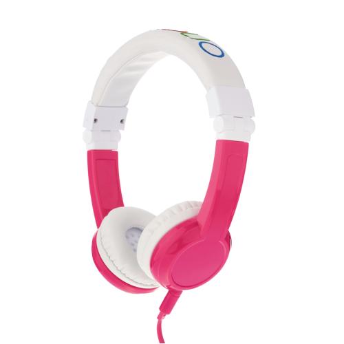 Kids headphones BuddyPhones EXPLORER, pink