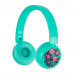 BuddyPhones POP wireless kids headset turquoise