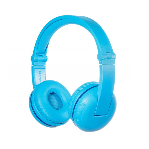 BuddyPhones PLAY wireless kids headphones, blue glacier