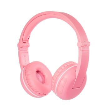 Безжични детски слушалки BuddyPhones PLAY, pink sakura