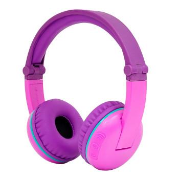 Безжични детски слушалки BuddyPhones SCOUT PLAY, lila