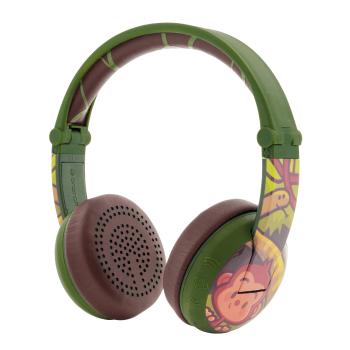 Безжични детски слушалки BuddyPhones WAVE Monkey