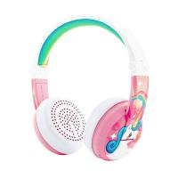Wireless kids headphones BuddyPhones WAVE Unicorn