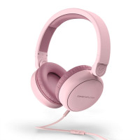 Wired headphones Energy Headphones Style Talk - Pure pink