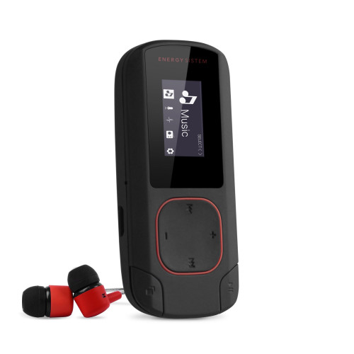 Energy Clip Bluetooth MP3 Coral