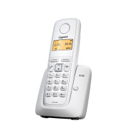 Gigaset A120 cordless DECT phone, white