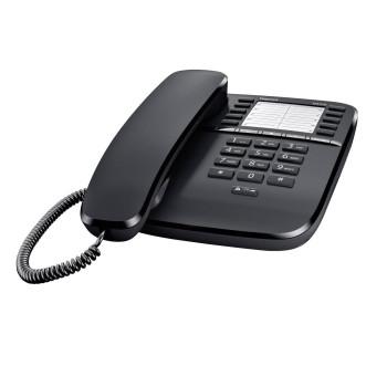 Стационарен телефон Gigaset DA510 - Черен