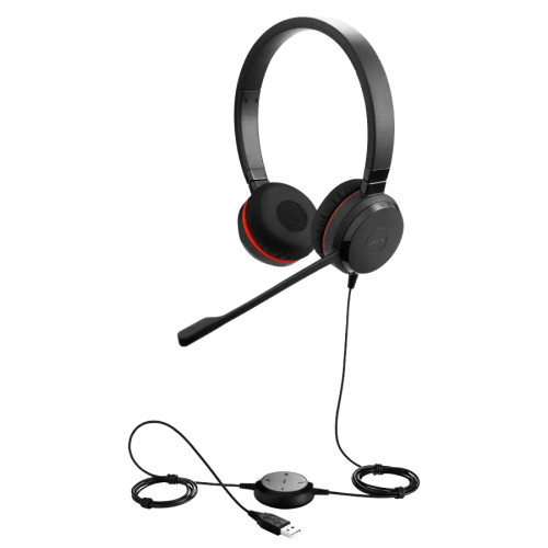 Слушалки с микрофон Jabra Evolve 30 II UC Stereo с USB и 3,5мм жак