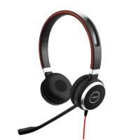 Слушалки с микрофон Jabra Evolve 40 MS Stereo USB и 3.5мм жак
