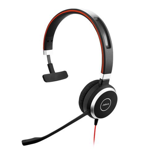 Слушалки с микрофон Jabra Evolve 40 MS Mono USB и 3.5мм жак