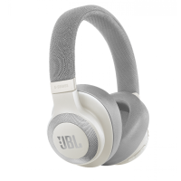 JBL E65BTNC Bluetooth Headphones, white