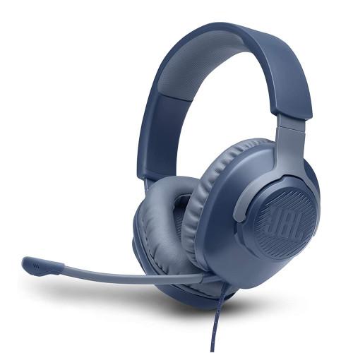 Gaming headphones JBL Quantum 100 - Blue