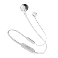 JBL T205BT Wireless headphones, silver