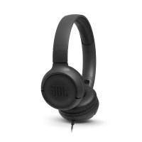 JBL T500 жични слушалки, black