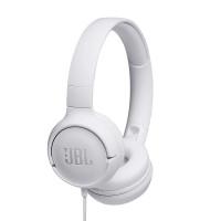 JBL T500 жични слушалки, white