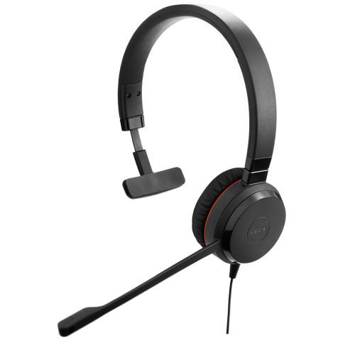 Jabra Evolve 30 II UC Mono NC USB & 3,5mm Jack Headphones with microphone
