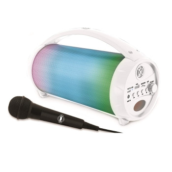 Преносима колона Lexibook iParty Bluetooth с микрофон и светлинни ефекти