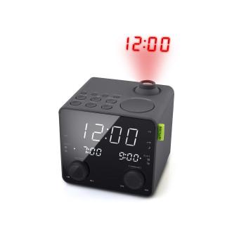 Радиочасовник MUSE M-189 P с прожекция на часа