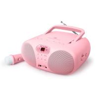 Преносимо детско CD/Радио Muse MD-203 KP - Pink