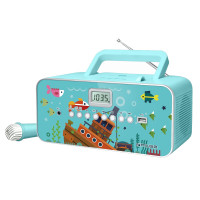 Children CD Radio Muse M-29 KB, turquoise
