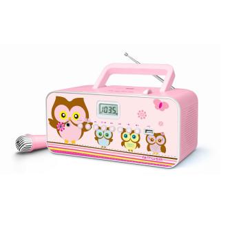 Детско CD Радио Muse M-29 KB, pink