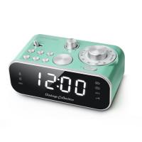 Muse M-18 CRG, green, Clock radio