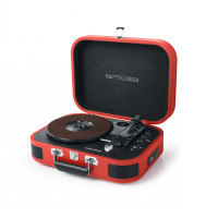 Gramophone MUSE MT-201 BT, red