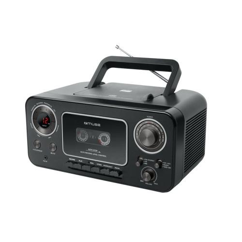 MUSE M-182 RDC, CD / CD-R / CD-RW Portable radio cassette player
