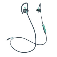 House of Marley Bluetooth headphones UPRISE for sports, teal