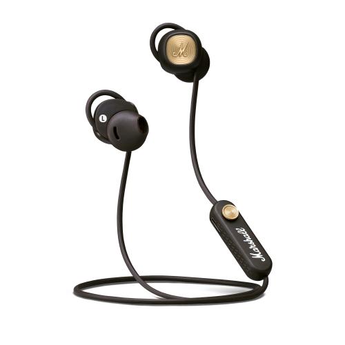 Bluetooth headphones Marshall MINOR II, brown