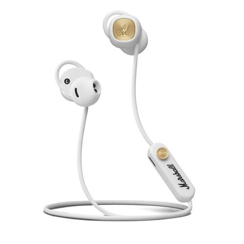 Bluetooth headphones Marshall MINOR II, white