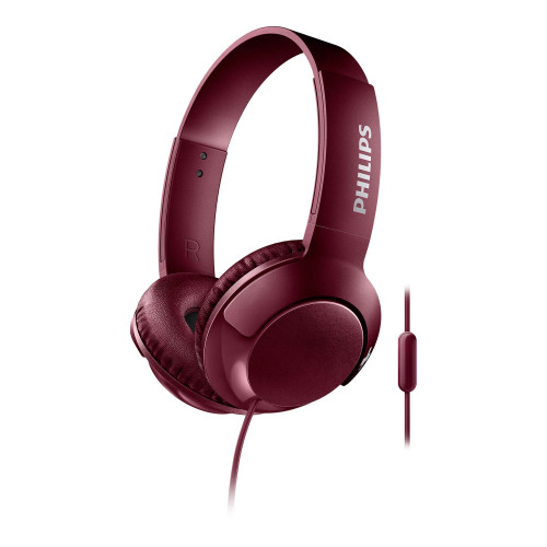 Philips Bass+ SHL3075RD Red
